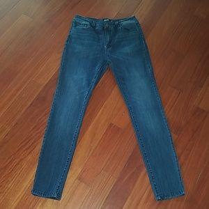 Nanette lepore denim jeans HW Gramercy skinny